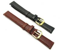 CONDOR XL Extra Long Padded Buffalo Calf Leather Watch Strap 12mm 14mm 074L